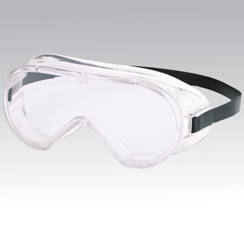 Poreless anti-fog goggles