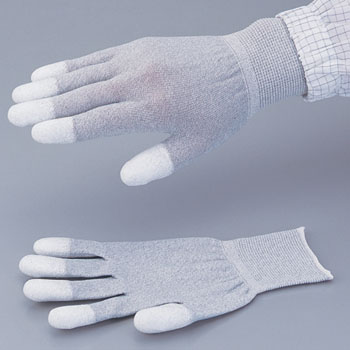 Conductive gloves,PU-coated fingertip coat