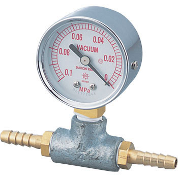 Vacuum Gauge For Water Aspirators