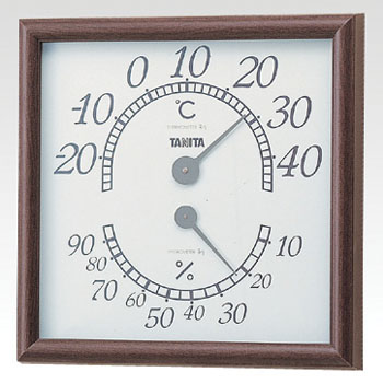 Thermo Hygrometer Square
