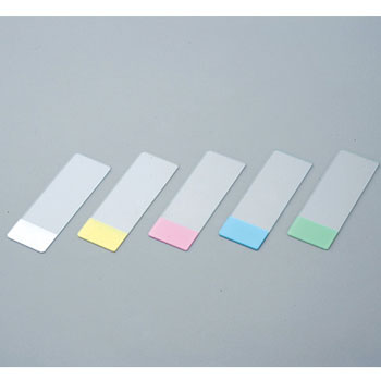 Star frosted slide glass (water fringed)