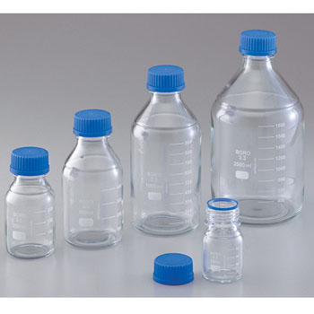 Heat-Resistant Screw Mouth Reagent Bottles