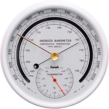 how to set an aneroid barometer