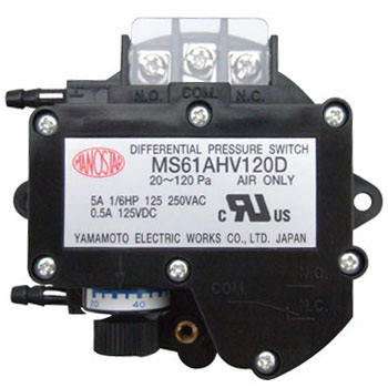Fine Differential Pressure Switch, Mano Star