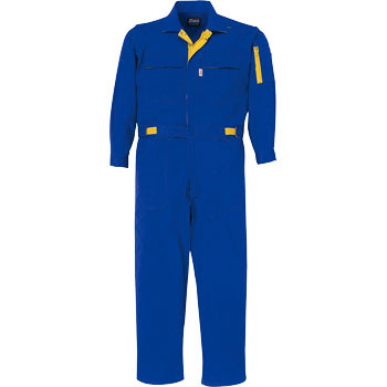 34005 Mixed Cotton Overalls Outfit, Unisex, Satb Fastener Removal