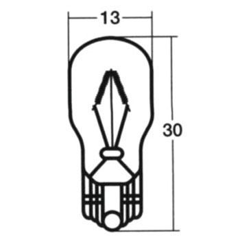 Wedge Base Bulb