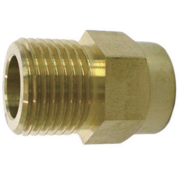 Copper Flexible Pipe Adaptor