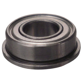 Miniature stainless steel ball bearings on both sides steel plate shield type with flange