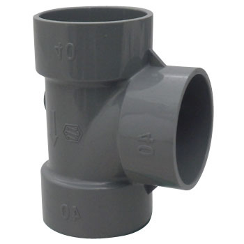 Pipe Fitting, DV 90 degree Tee