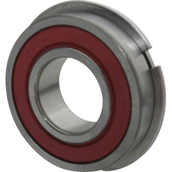 Deep Groove Ball Bearing 6000 Retaining Ring Non-Contact Seal Type LLUNR