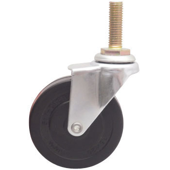 Screw Type Rubber Caster Swivel Caster