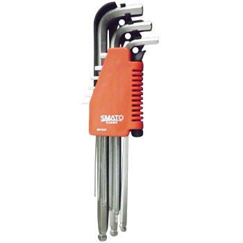 Ball Point Hex Key Set, Inch