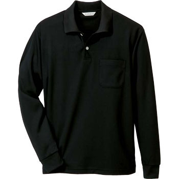 Absorbent Quick-Drying Deodorant Deoquick Long Sleeve Polo Shirt