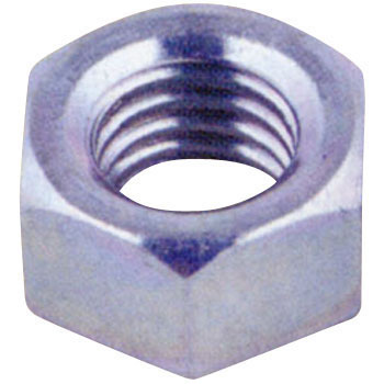 Class 1 Hex Nut, Trivalent Chromate White