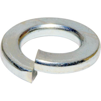 Spring Washer, Trivalent Chromate White
