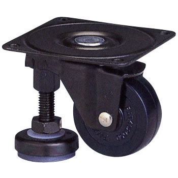 100 Af Series With Level Adjuster Universal Wheels, Rubber Car