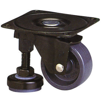 100AF Series Adjuster Hoot Swivel Caster Nylon Wheel