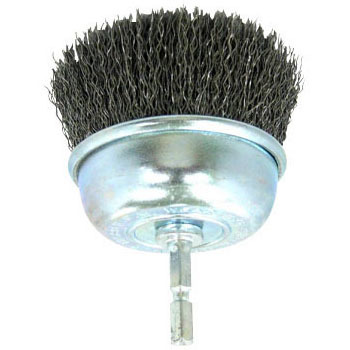 Hex Shaft Cup Brush Wire
