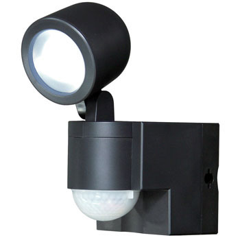 Battery-powered LED sensor light