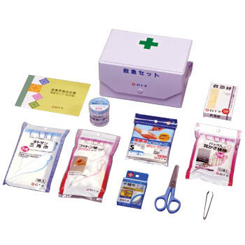 First Aid Set BOX, 10pcs