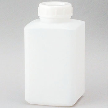 Square Wide Mouth Polyethylene Container