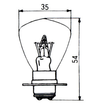 Headlight Bulb 24V