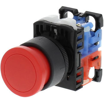 Push-Button Switch AR22 Series Flat Type, phi24