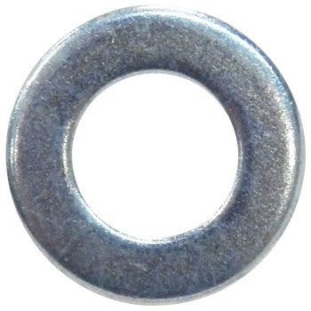 Flat Washer, Trivalent Chromate White
