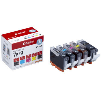 Ink Tank BCI-7e 4 color + BCI-9BK Multipack