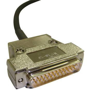 D-Sub, Emi ResolvingHarness, With Male Connector On One EndRound Cable