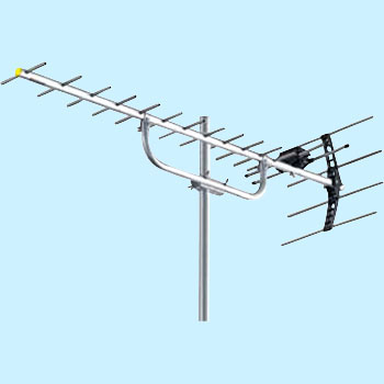 UHF Antenna, Eave Edge, 13 to 62ch