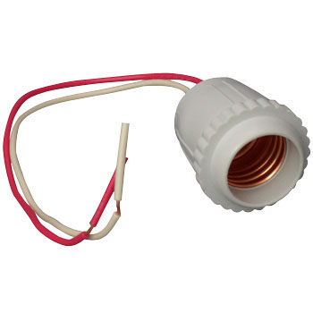 Plastic Rubber Socket for E26