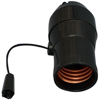 E26 Light Bulb With Pull Switch