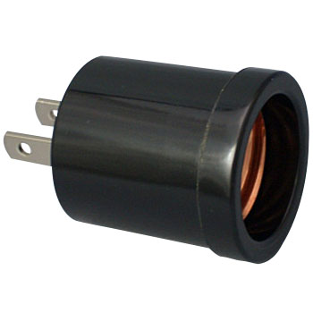 E26 Light Bulb Socket Adapter for Outlet Use