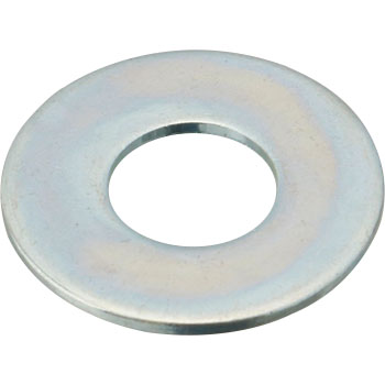 Flat Washer, Iron / Uni-Chromium