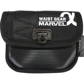 WAIST GEAR, Accessory Bag, Squareuare Corner Bottom Type