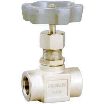 Stainless Steel Screw in Type Panel Nut  Stop Valve
