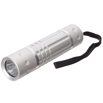 White LED Rain-Proof Aluminium Light 2.7W