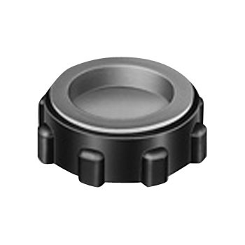 Plastic Bushing With Cap, For Thick Steel