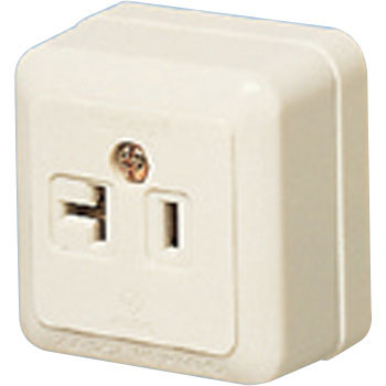 Square-Shaped Outlet for Both 15A And 20A