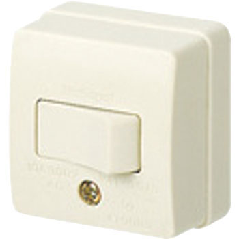 Exposed Switch 10A Squareuare-Shaped Type Tumbler Switch, 3 Circuit