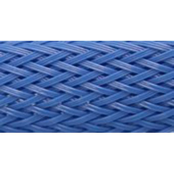 Colour Braided Tube, Blue