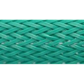 Colour Braided Tube, Green