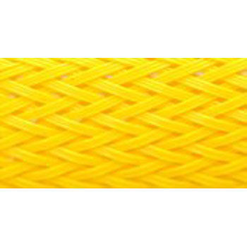 Colour Braided Tube, Yellow