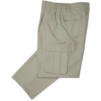 8106 One Tuck Poly Slacks