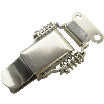 "Stainless Steel Catch Clip, ""Pacchin"" Lock"