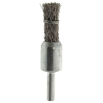 Crimp Wire End Brush, Copper