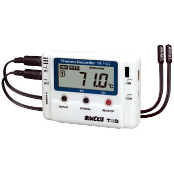 "Data Logger, Temperature, ""Ondotori"""