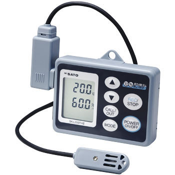 Data Logger Recorder, Temperature and Humidity Type