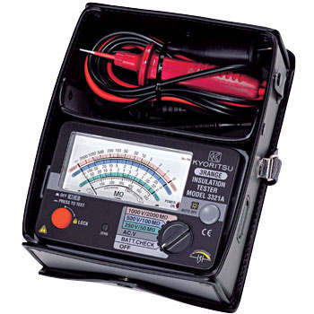 Insulation Resistance Meter Cord Storage Unit, Carrying Case